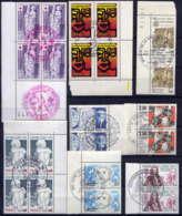 FRANCE - ENSEMBLE DE TIMBRES OBLITERES CACHET 1er JOUR - 1980-1989