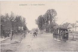 Bv - Carte Lettre LORIENT - Le Cours Chazelles (tramway) - Lorient