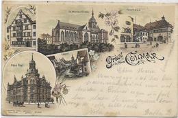 68 COLMAR . LOT 1 De 6 Belles Cartes Du Haut-Rhin , état Extra - Postkaarten