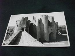 CASTELLO CASTLE  CHATEAU SCHLOSS PEMBROKE CASTLE BARBICAN TOWER AND CATEHOUSE U.K. - Castelli