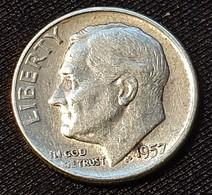 USA 1 Dime 1957 - 1946-...: Roosevelt