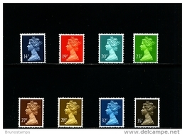 GREAT BRITAIN - 1988  MACHIN  SET  MINT NH - 1952-.... (Elizabeth II)