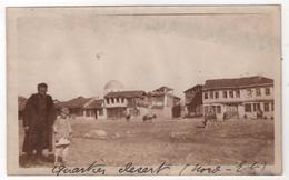 Photo Originale Guerre D'Orient GREECE GRECE Macedonia MONASTIR BITOLA Quartier Nord Est - Guerre, Militaire