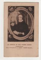 Santino Antico Serva Di Dio Maria Ward - Religion & Esotérisme