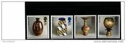GREAT BRITAIN - 1987  STUDIO POTTERY   SET  MINT NH - 1952-.... (Elisabetta II)