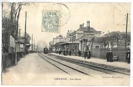 CHATOU - La Gare - TRAIN - Chatou