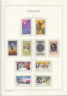 Sheets Leuchtturm For Thailand 1983. Attention!!! Sheets Sold Without Stamps. - Thailand