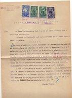 29.04.1920. KINGDOM OF SHS, ZEMUN, CHAIN BREAKERS, VERIGARI, POSTAL STAMPS AS REVENUE - 1919-1929 Kingdom Of Serbs, Croats And Slovenes