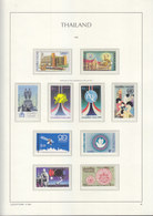 Sheets Leuchtturm For Thailand 1985. Attention!!! Sheets Sold Without Stamps. - Thailand
