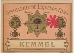 """Distillerie Looienga """"De Oranje Boom"""" Hasselt Liqueurs Fines - Kummel. Belgie - Andere Verzamelingen"""