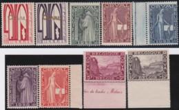 Belgie     .    OBP .    258/266    .      **    .    Postfris  .   /   . Neuf Avec Gomme Et SANS Charniere - Belgium