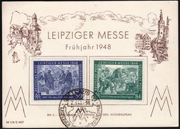 Germany Leipzig 1948 / Leipziger Messe, Fair - Altre Esposizioni Internazionali