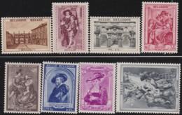 Belgie     .    OBP .    504/511      .      **    .    Postfris  .   /   . Neuf Avec Gomme Et SANS Charniere - Belgique