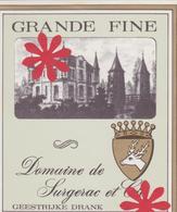 Distillerie / Likeurstokerij G. Baekelandt 'Grande Fine' Ingelmunster. Belgie - Autres Collections