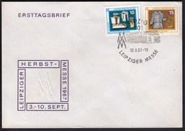 Germany DDR Leipzig 1967 / Leipziger Messe, Autumn Fair - Wereldtentoonstellingen