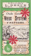 Distillerie / L. Dheur 'L'Armurier' Herstal Vieux Système / Oude Genever - Andere Verzamelingen