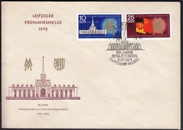 Germany DDR Leipzig 1972 / Leipziger Messe, Autumn Fair - Universal Expositions