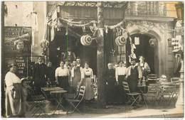 CPHP2   75 PARIS 09  CAFE  BAR  BIERE 151 Rue De FAUBOURG POISSONNIERE  CARTE PHOTO  De  1904 - Arrondissement: 09