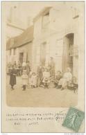 CPHP2   75 PARIS 11  .MARCHAND DE PEAUX CHIFFONS FERRAILLES  GUERIN 27 Rue De CHARONNE  CARTE PHOTO - Arrondissement: 11