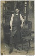 CPHP2   75 PARIS 11  .FABRICANT SIEGES  LEVY  TOURNEUR BOIS  33  Rue  Du Fg  SAINT ANTOINE  CARTE PHOTO  De 1905 - Arrondissement: 11