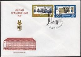Germany DDR Leipzig 1973 / Leipziger Messe, Autumn Fair - Wereldtentoonstellingen