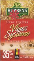 Distillerie / Rubbens Graanstokerij Oude Jenever ' Vieux Système' 35% Koren & Mout./ 50 CL. Belgie - Andere Verzamelingen