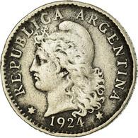 Monnaie, Argentine, 5 Centavos, 1924, TB+, Copper-nickel, KM:34 - Argentine