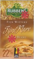 Distillerie / Rubbens Graanstokerij ' Fijne Klare ' Petit Blanc - Witteke 22% Inh. 1 L Belgique - Andere Verzamelingen