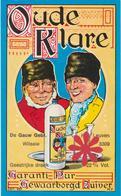 Distillerie / Stokerij De Gauw  Leuven 'Oude Klare' Wilsele. 22%vol. Belgie. - Andere Verzamelingen