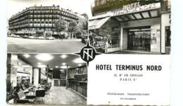 75* PARIS  (CPSM) Hotel Terminus Nord - Cafés, Hoteles, Restaurantes