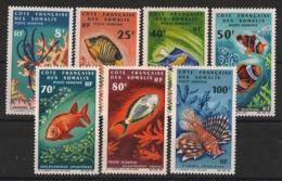 Côte Des Somalis - 1966 - Poste Aérienne PA N°Yv. 49 à 55 - Série Complète - Poissons - Neuf Luxe ** / MNH / Postfrisch - Poissons