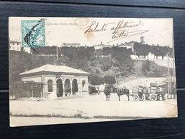 CUNEO PANORAMA DALLA STAZIONE  1905 - Cuneo