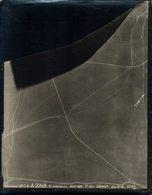 DAUCOURT E ARDEUIL   Photo Aérienne Militaria 24*18 CM  Guerre 1914/1918 WW1 Photographie Originale Aérienne - Guerre, Militaire
