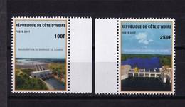 Cote D'Ivoire, 2017- Inauguration Du Barrage De Soubre. Full Issue. NewNH. - Ivory Coast (1960-...)