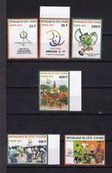 Cote D'Ivoire, 2017- Jeux De La Francophonie. Full Issue. NewNH. - Côte D'Ivoire (1960-...)