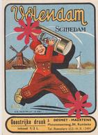 Distillerie Stokerij Desmet-Maertens 'Schiedam' Rumbeke / Roeselare. 1/2 L. Belgique - Autres Collections