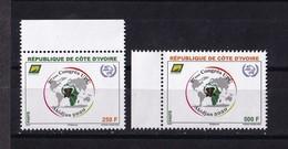 Cote D'Ivoire, 2018- 1er Timbre Annonce 27ème Congrès De L'UPU, Abidjan 2020. Full Issue. NewNH - Ivory Coast (1960-...)
