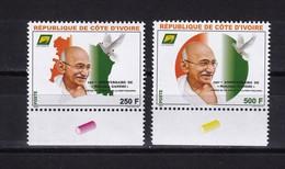 Cote D'Ivoire, 2019- 150eme Anniversaire De Mahatma Gandhi. Full Issue. NewNH. - Ivory Coast (1960-...)