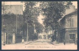 92 ASNIERES La Rue De Bretagne - Asnieres Sur Seine