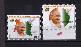 Cote D'Ivoire, 2019- 150eme Anniversaire De Mahatma Gandhi. Full Issue. NewNH. - Mahatma Gandhi