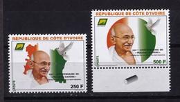 Cote D'Ivoire, 2019- 150eme Anniversaire De Mahatma Gandhi. Full Issue. NewNH. - Hinduism