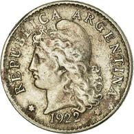 Monnaie, Argentine, 5 Centavos, 1922, TTB, Copper-nickel, KM:34 - Argentine