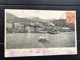 INTRA NUOVA   PANORAMA 1902 - Verbania