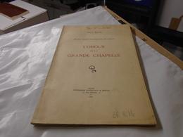 Rarissime ORGUE GRANDE CHAPELLE ECOLE ST FRANCOIS DE SALES DIJON 1935 ABBE BOCAT - Bourgogne