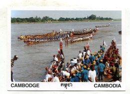 CAMBODIA - AK 368622 Phnom Phenh - Tete Des Eaux - Mekong - Cambodja