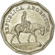 Monnaie, Argentine, 10 Pesos, 1963, TTB, Nickel Clad Steel, KM:60 - Argentine