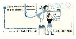 Buvard L'eau Courante Chaude Et Pas Chère Avec Le Chauffe-eau électrique - Buvards, Protège-cahiers Illustrés