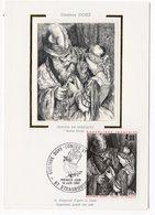 Carte Maximum 1983 - Gustave Doré Contes De Perrault  : Barbe Bleue  YT 2265 - 67 Strasbourg - 1980-89