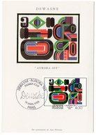 Carte Maximum 1983 - Dewasne : Aurora-Set  YT 2263 - 67 Strasbourg - 1980-89