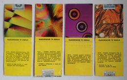 Italy Italie Italia Matches Matchbox Allumettes Fiammiferi Store Al Microscopio Microscope Images X4 - Matchboxes